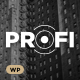 Profi – Business, Professional WordPress Theme - ThemeForest Item for Sale