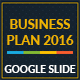 Business Plan 2016 Google Slide Template - GraphicRiver Item for Sale