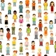 People Seamless Background - GraphicRiver Item for Sale