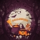 Halloween Background With Spooky Forest. - GraphicRiver Item for Sale