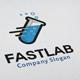 Fast Lab Logo - GraphicRiver Item for Sale