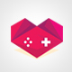 Love Games logo - GraphicRiver Item for Sale