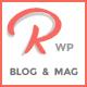 Ramble - Multi-purpose Blog, Magazine And Woo-Commerce WordPress Theme - ThemeForest Item for Sale