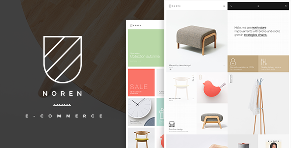 Noren- Shop WordPress WooCommerce Theme
