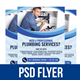 Plumbing Services Flyer Vol. 2 - GraphicRiver Item for Sale