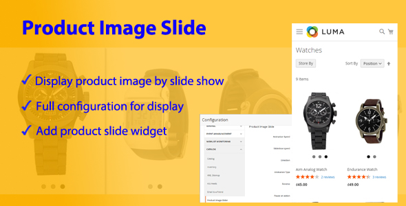 Magento 2 Image Product Slide