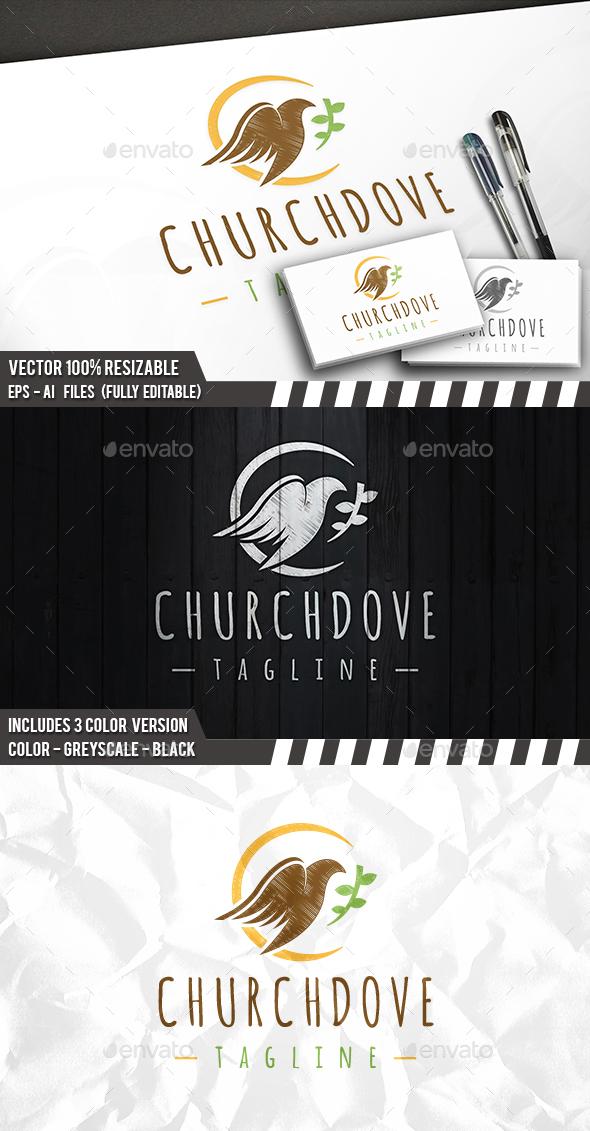 Church Dove Logo