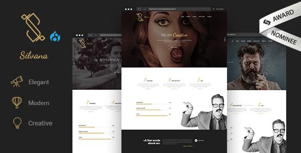 Silvana - Creative Agency Drupal 8.7 Theme