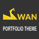 SWAN Company Portfolio Multi-purpose PSD Template - ThemeForest Item for Sale