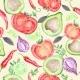 Vegetarian Vegetable Pattern - GraphicRiver Item for Sale