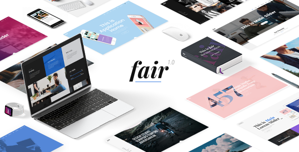 Fair - Digital Marketing Agency Theme