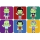 Male Zombie Avatar Set - GraphicRiver Item for Sale