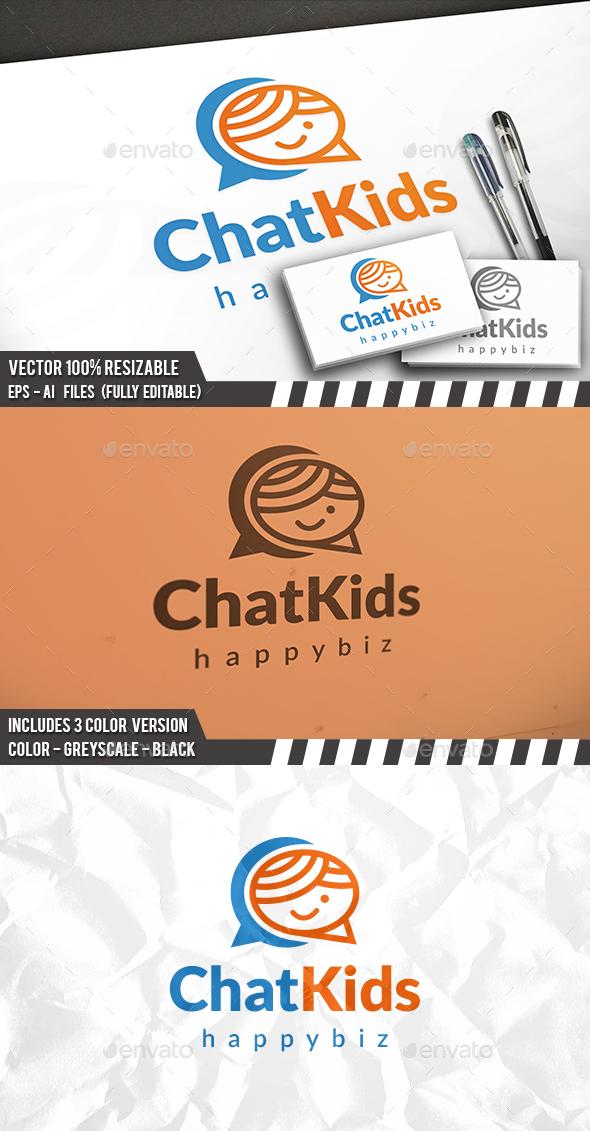 Kid Chat Logo