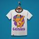 Genius Kids T-Shirt Design - GraphicRiver Item for Sale