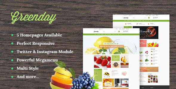 Ap Green Shopify Theme