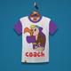 Coach Kids T-Shirt Design - GraphicRiver Item for Sale