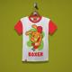 Boxer Rabbit Kids T-Shirt - GraphicRiver Item for Sale