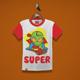 Super Alien Kids T-Shirt Design - GraphicRiver Item for Sale