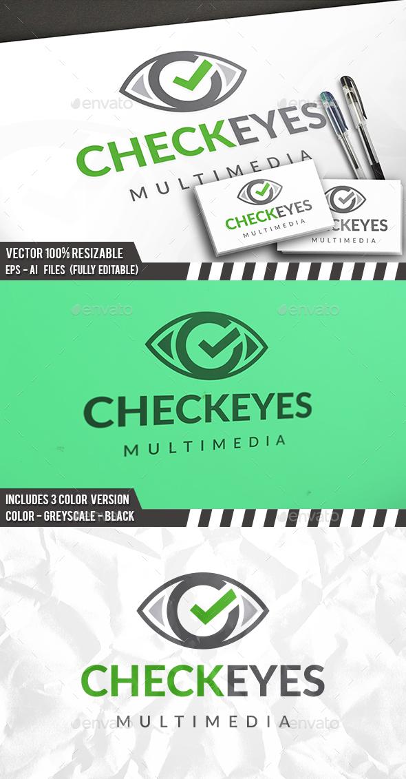 Eye Check Logo