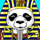 Pharaoh Panda - GraphicRiver Item for Sale