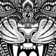 Tiger Zentangle - GraphicRiver Item for Sale