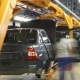 Female Worker Assembly Cars On Conveyer - VideoHive Item for Sale