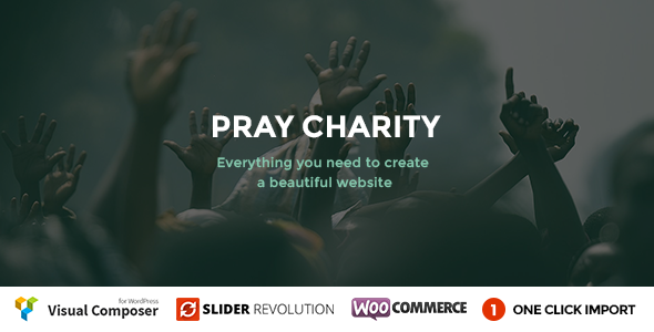 Pray - Charity / Nonprofit / Fundraising WordPress