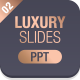 Business Luxury Powerpoint Template 002 - GraphicRiver Item for Sale