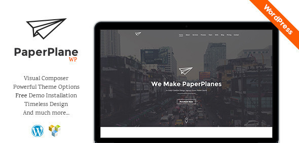 PaperPlane - Creative Business Portfolio