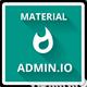 Admin.io - Responsive Material Design Dashboard - ThemeForest Item for Sale