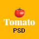 Tomato- Restaurant PSD Template - ThemeForest Item for Sale