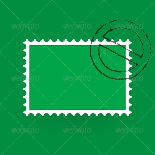 Saint Patrick Postage Stamp