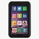 Social Media Icons - 3DOcean Item for Sale