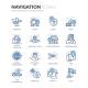Line Navigation Icons - GraphicRiver Item for Sale