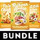 Pizza Chicken Burger Flyer Bundle - GraphicRiver Item for Sale