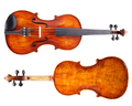 Top and bottom view of a violin - PhotoDune Item for Sale