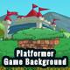 2D Platformer Castle Game Background with Tile Sets & Objects - GraphicRiver Item for Sale