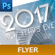 2017 New Years Eve Flyer - GraphicRiver Item for Sale