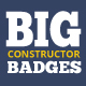 Big Constructor of Badges - GraphicRiver Item for Sale