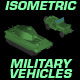 Isometric Military Vehicles - GraphicRiver Item for Sale