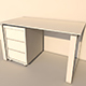 table white - 3DOcean Item for Sale