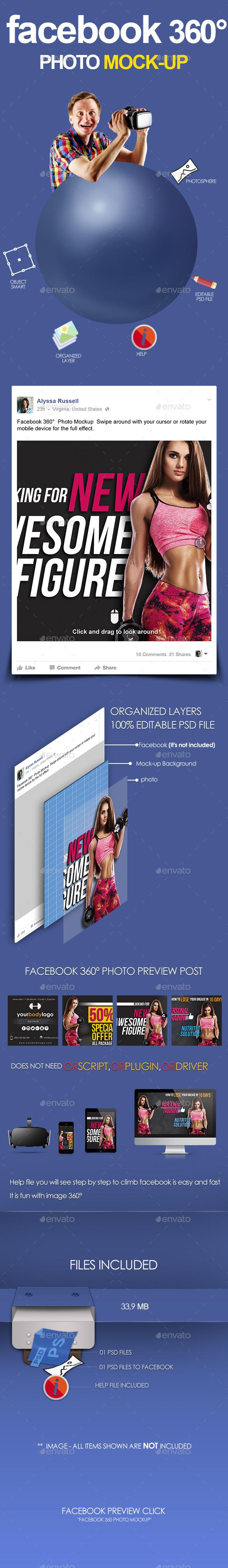 Facebook 360 Photo Graphics, Designs & Templates