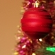 Red Ball On The Christmas Tree - VideoHive Item for Sale