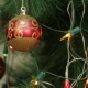 Red Balls On a Christmas Tree - VideoHive Item for Sale