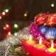 Burning Candles And Christmas Decorations - VideoHive Item for Sale
