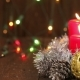 Christmas Arrangement. Burning Candles - VideoHive Item for Sale
