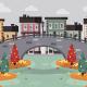 Autumn City Landscape - GraphicRiver Item for Sale