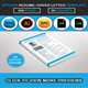 Stylish Resume & Cover Letter Template Design - GraphicRiver Item for Sale