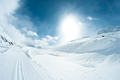 Winter landscape with skiing tracks - PhotoDune Item for Sale