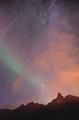 amazing night sky above the horizon - PhotoDune Item for Sale